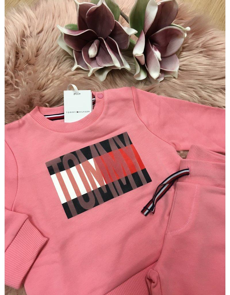 "TOMMY HILFIGER Tracksuit ""Flag"" rosey pink"