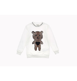 Fracomina Sweater beertje leopard