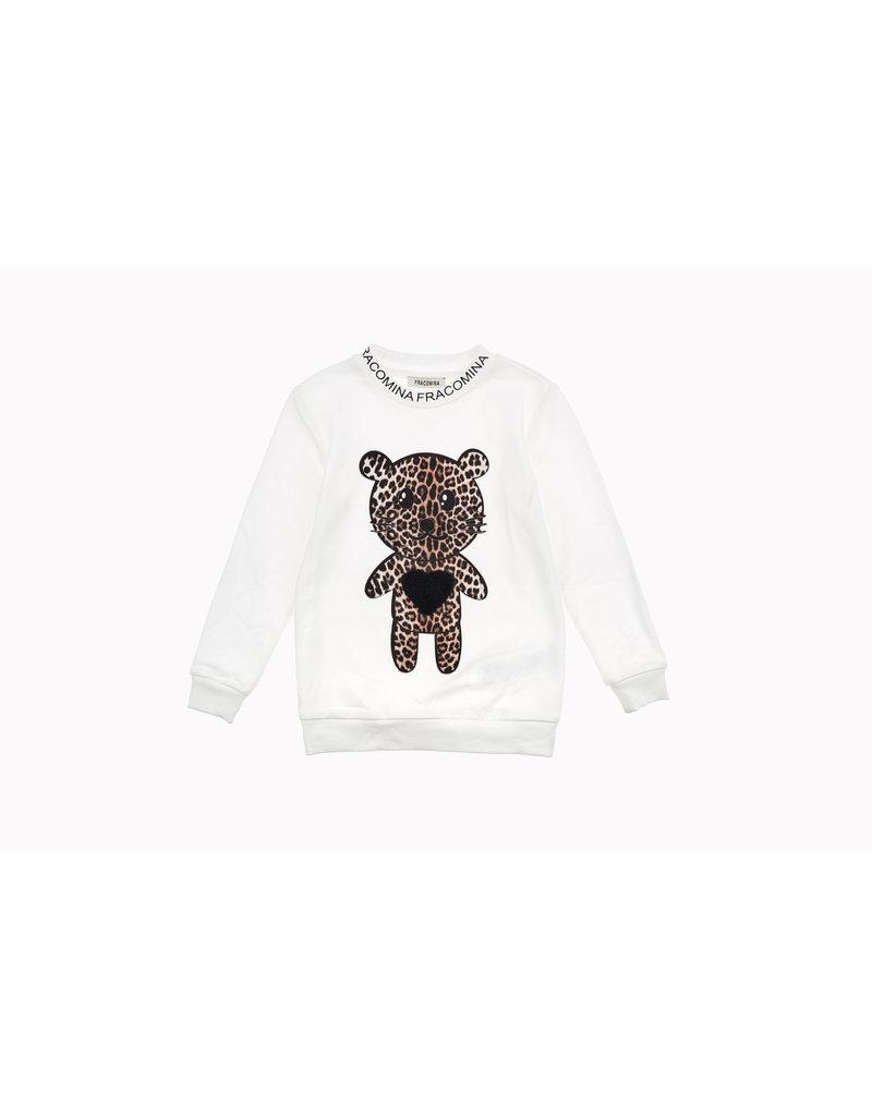 Fracomina Sweater beertje leopard