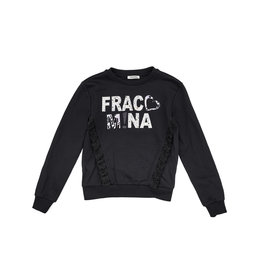 "Fracomina Sweater ""Fracomina"" zwart"