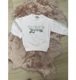 "Sweater ""Super Lovely"" roze"