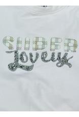 "Sweater ""Super Lovely"" roze"