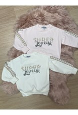 """Yours Sweater """"Super Lovely"""" cream"""