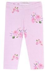"Balloon Chic Legging ""Roses"" vichy roze"