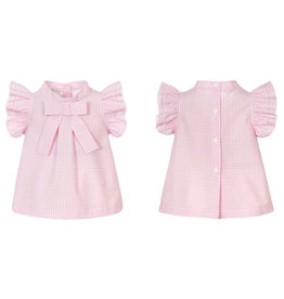 Balloon Chic Blouse vichy roze