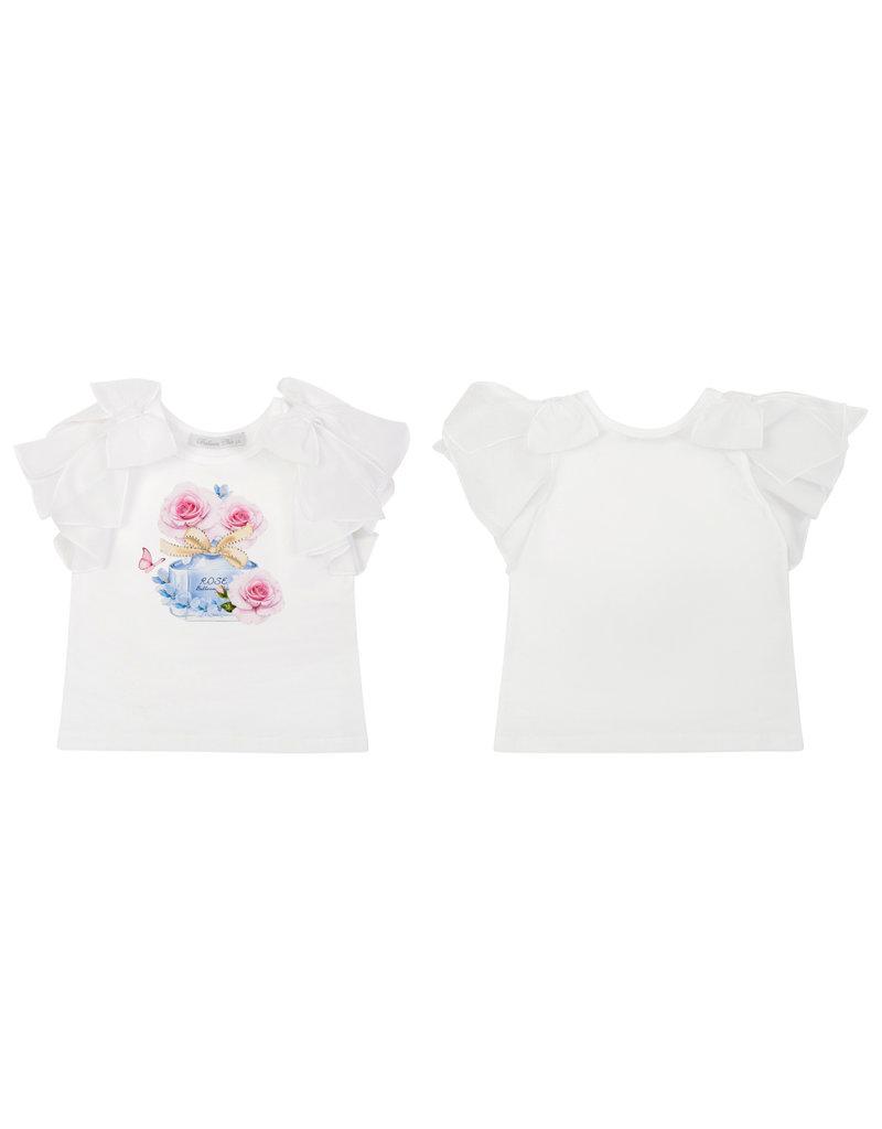 """Balloon Chic Tshirt """"Rose Parfum"""" strikmouwen"""