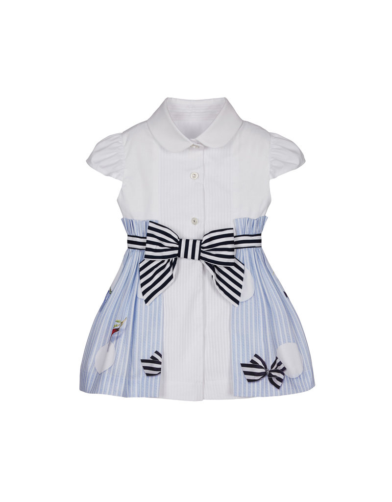 """Lapin House Jurk """"Butterfly"""" wit blouse"""