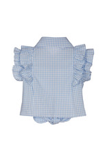 "Lapin House Set ""Flowers"" blouse+shortje"