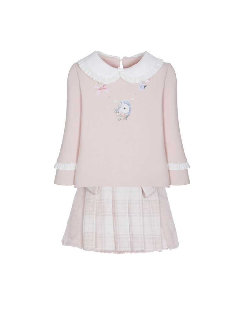 "Lapin House Set Sweater ""Konijn"" + rokje"
