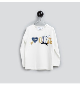 "Special Day Longsleeve ""Love"" wit"