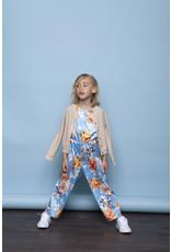 """Le Chic Jumpsuit """"Flower"""" satijn"""