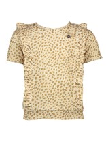 """Le Chic Top """"Animal Dots"""" beige"""