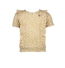 "Le Chic Top ""Animal Dots"" beige"