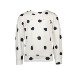 "Le Chic Sweater ""Painted Dots"" wit"