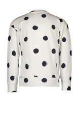 """Le Chic Sweater """"Painted Dots"""" wit"""