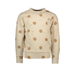 "Le Chic Sweater ""Painted Dots"" beige"