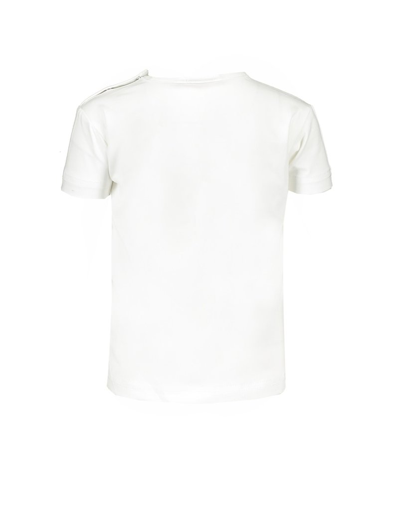 """Le Chic Tshirtje """"Animal Dots"""" off white"""