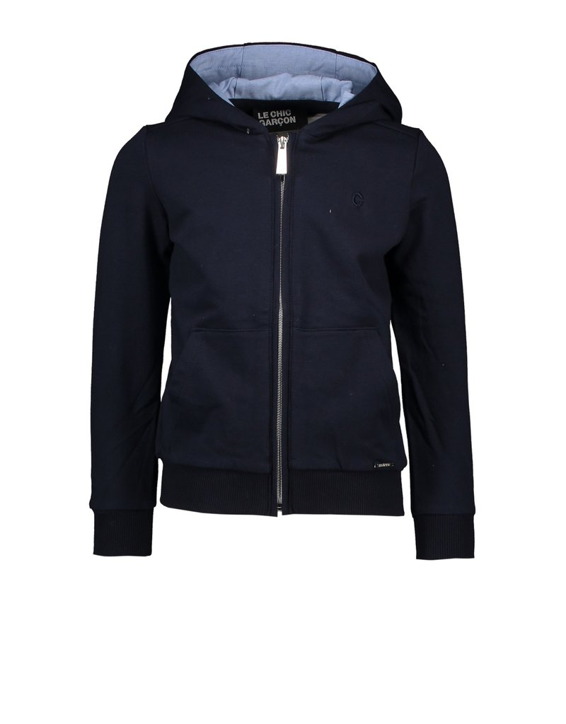Le Chic Garçon Sweatervest kap blue navy