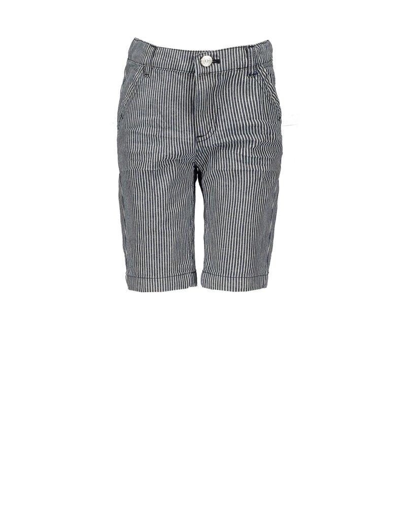 Le Chic Garçon Short streepjes blue navy