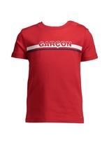 "Le Chic Garçon Tshirt ""Garçon"" underlined rood"