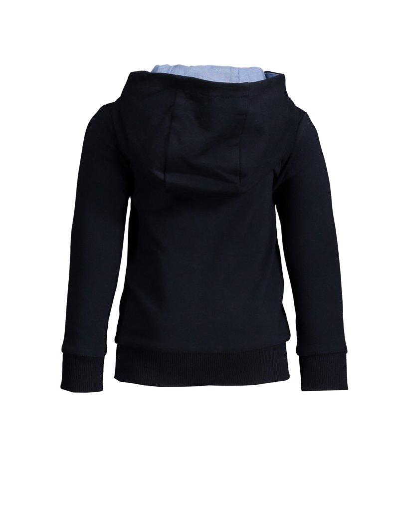 Le Chic Garçon Sweatervestje kap blue navy