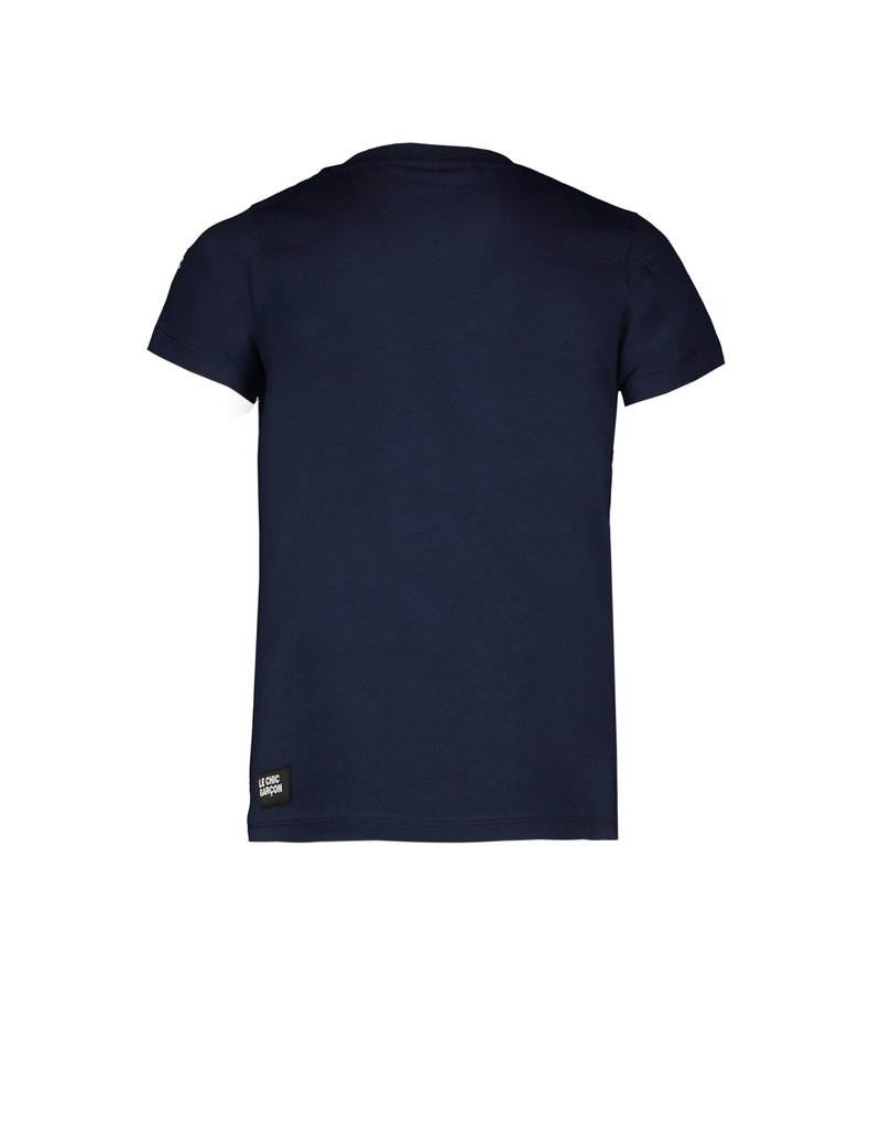 "Le Chic Garçon Tshirt ""Simply Charming"" blue navy"