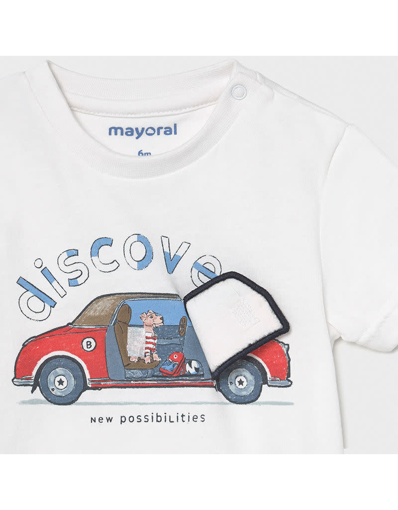 """MAYORAL Tshirt """"Discover"""" wit"""