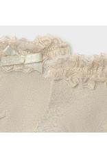 MAYORAL Kousjes beige lurex