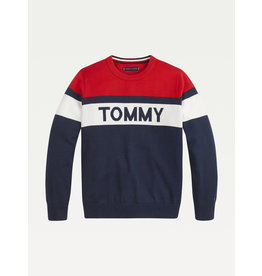 "TOMMY HILFIGER Sweater ""Tommy"" twilight navy"