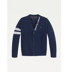 TOMMY HILFIGER Cardigan tape twilight navy
