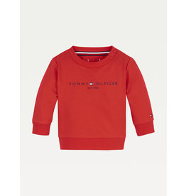 TOMMY HILFIGER Sweater essential deep crimson