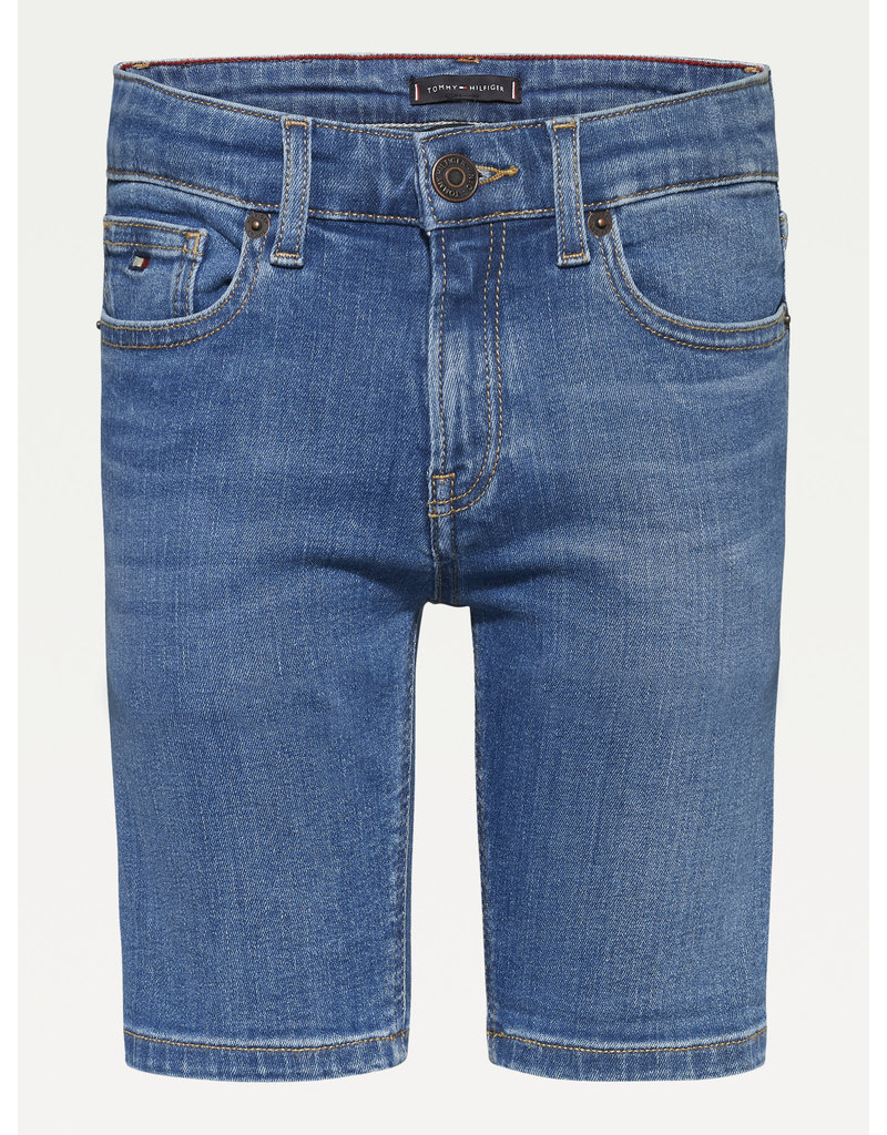 TOMMY HILFIGER Short jeans spencer summermed blue stretch