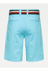 TOMMY HILFIGER Short chino belted bluefish