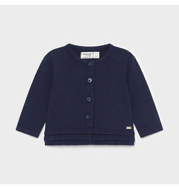MAYORAL Cardigan bottoned tricot navy