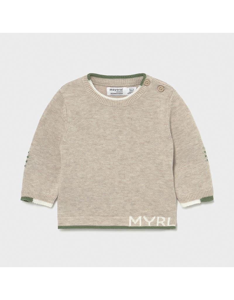 MAYORAL Sweater knit beige