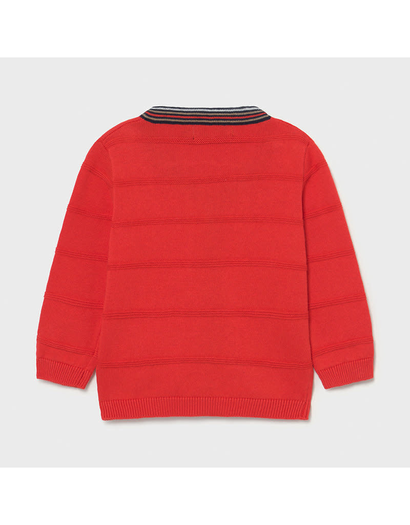MAYORAL Cardigan knitted cyber red