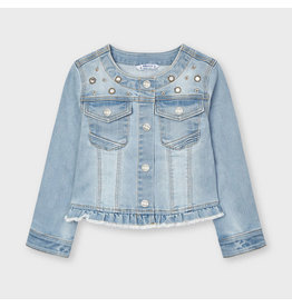 MAYORAL Jeansjacket bleached