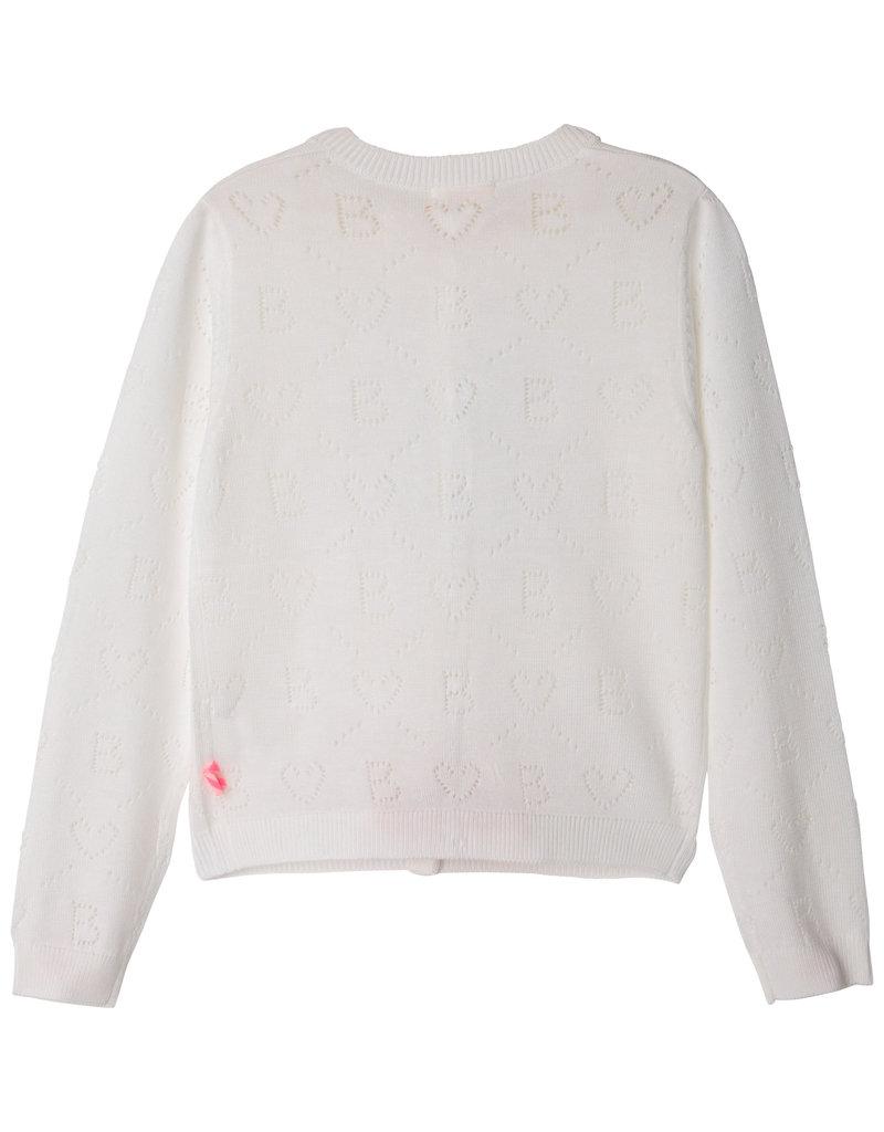 Billieblush Cardigan tricot wit