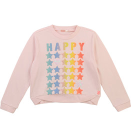 "Billieblush Sweater ""Happy"" roze"