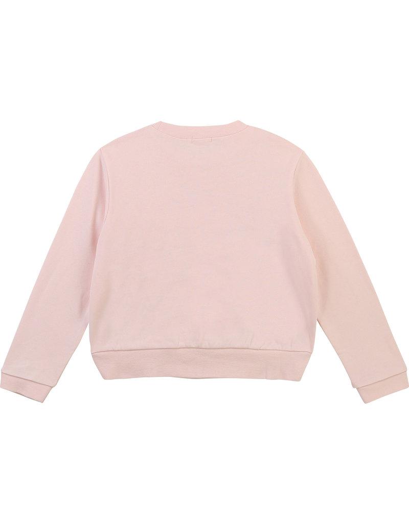 "Billieblush Sweater ""Happy"" roze"