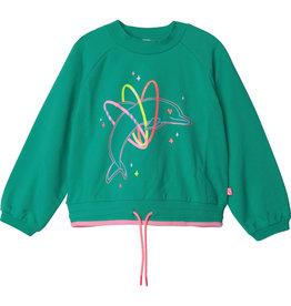 "Billieblush Sweater ""Dolphin"" grasgroen"