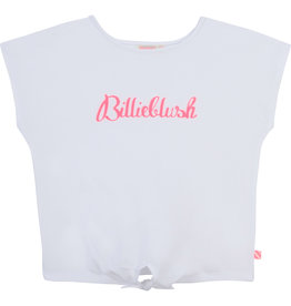 "Billieblush Tshirt ""Billieblush"" geknoopt wit"