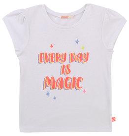 "Billieblush Tshirt ""Every Day Is Magic"" wit"