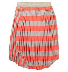 HUGO BOSS Rok stripes mandarin/beige