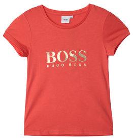 "HUGO BOSS Tshirt ""BOSS"" mandarin"