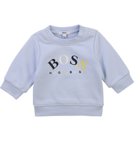 "HUGO BOSS Sweater ""Boss"" ciel blauw"