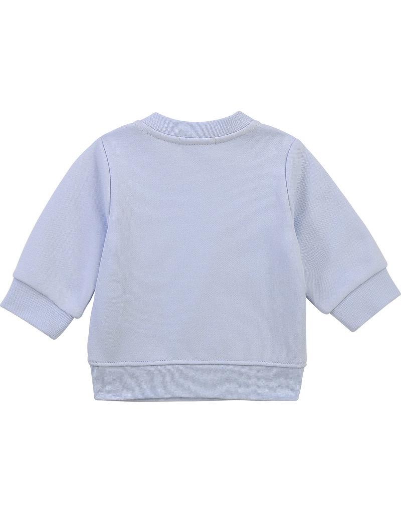 "HUGO BOSS Sweater ""Boss"" ciel blauw"