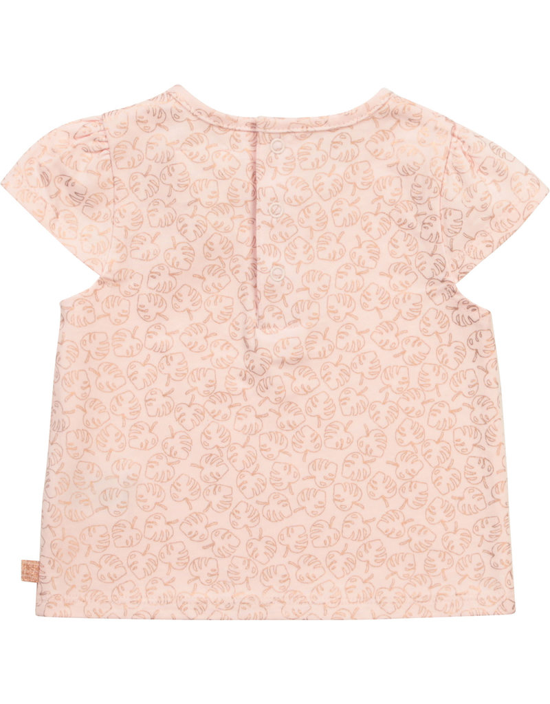 """Carrément Beau Tshirt """"Leaves"""" baby pink"""