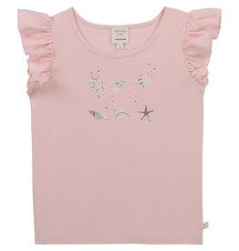 "Carrément Beau Tshirt ""Seashell"" baby pink"