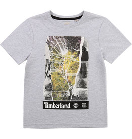 "Timberland Tshirt ""Shoes"" grijs"